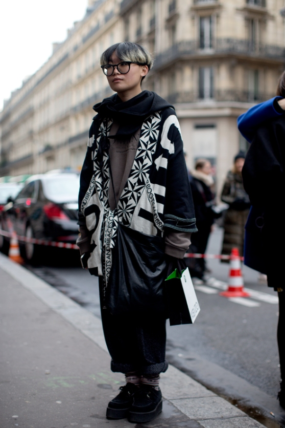 At Kenzo, Paris « The Sartorialist